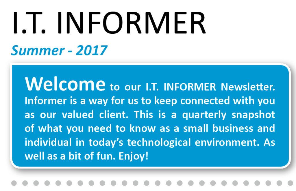 IT Informer - Summer Newsletter -