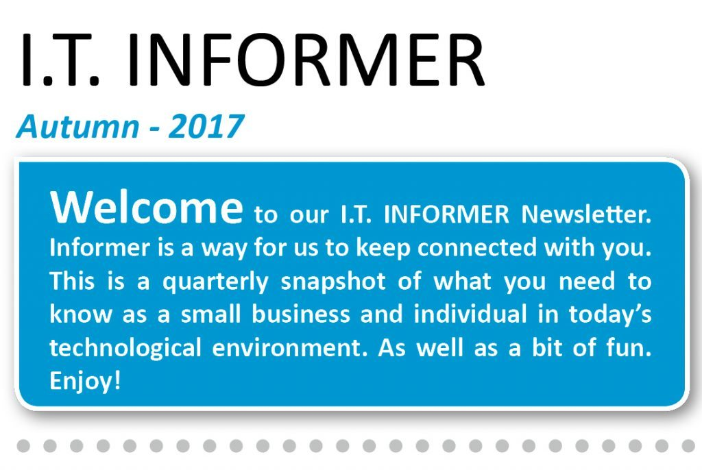 IT Informer - Autumn Newsletter -