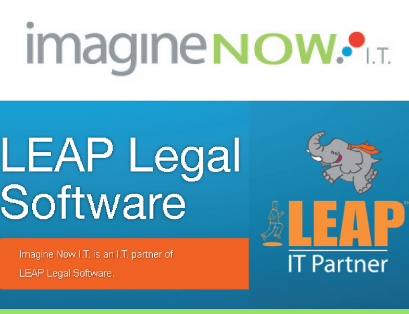 We are a LEAP Legal Software I.T Partner -
