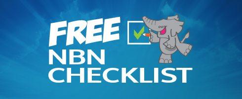 FREE NBN Checklist -